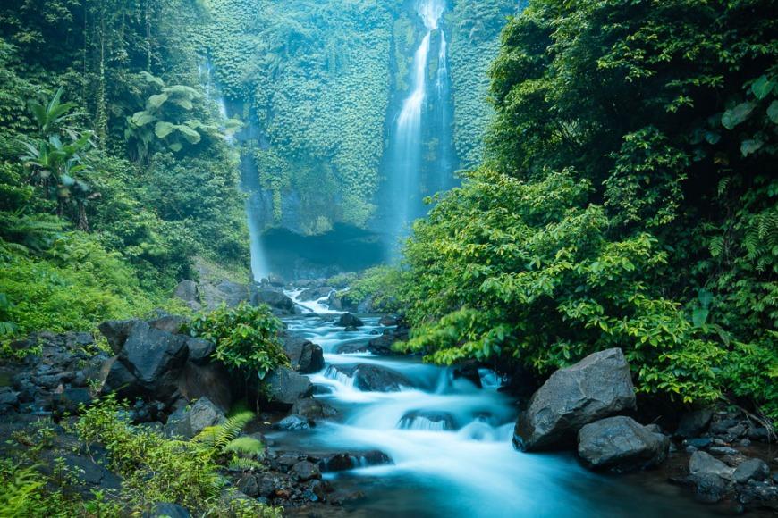 Sekumpul Waterfall, Buleleng, Bali, Indonesia