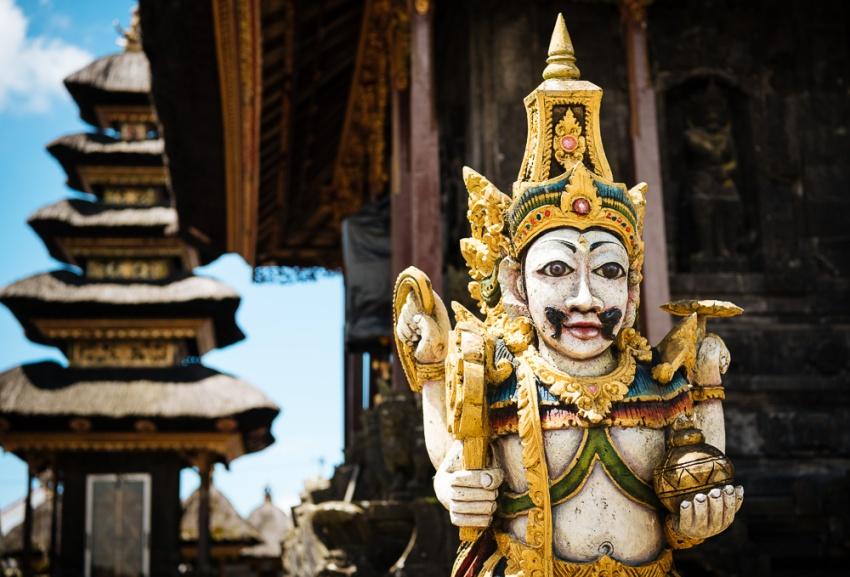 Pura Tuluk Biyu Batur Temple, Bali, Indonesia