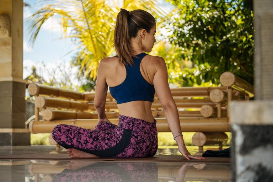 Yoga Course, Sidemen, Bali, Indonesia