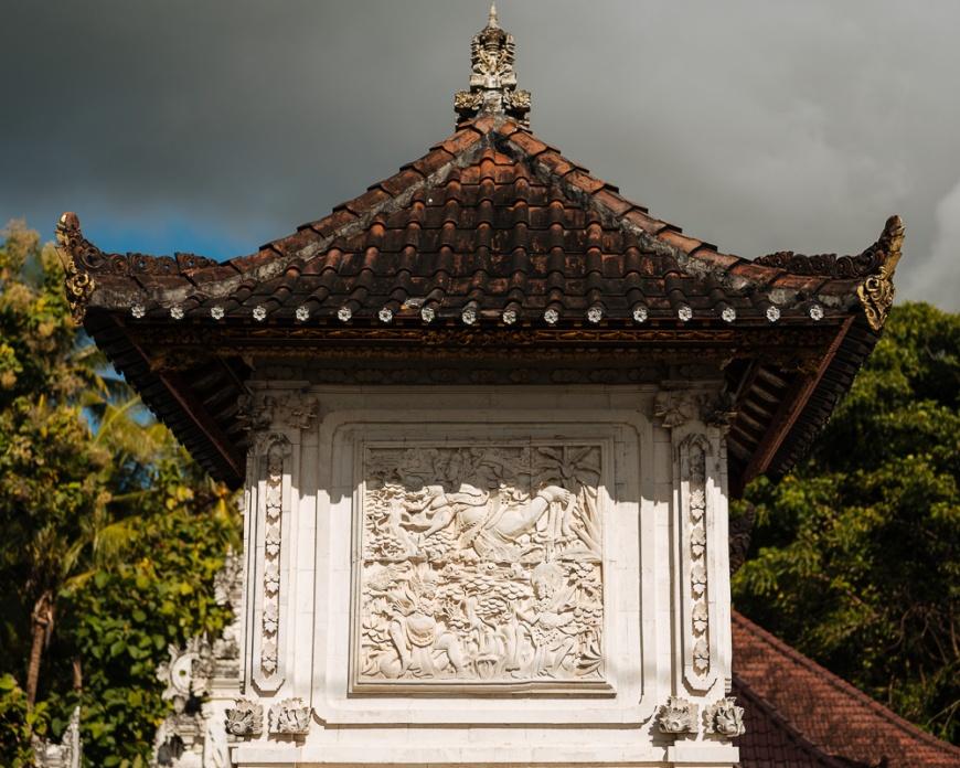 Detail of Temple, Nusa Penida, Bali, Indonesia