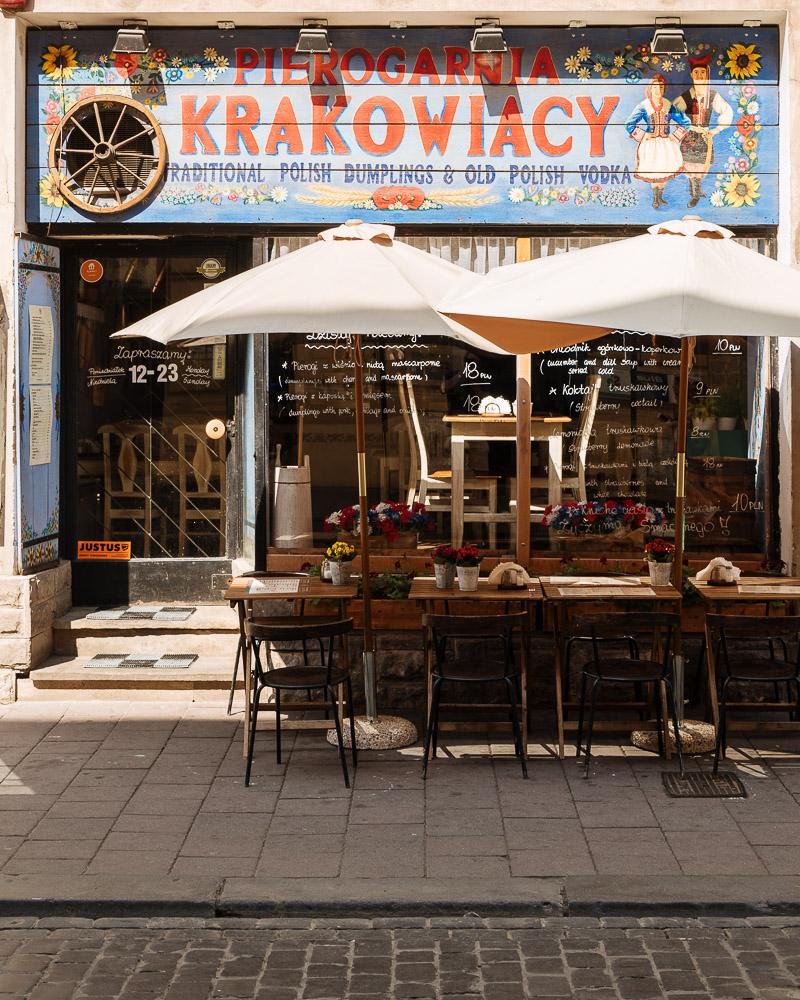 Traditional Polish Restaurant, Krakow, Malopolskie, Poland, Europe