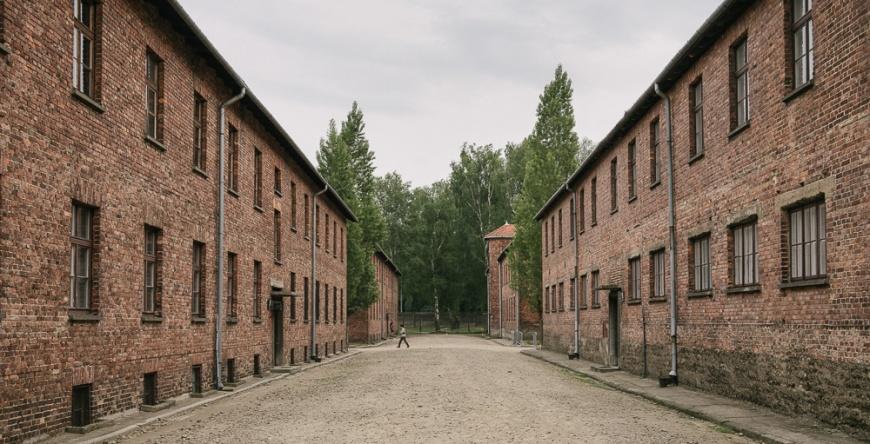 Exterior of Barracks, Auschwitz, Poland, Europe