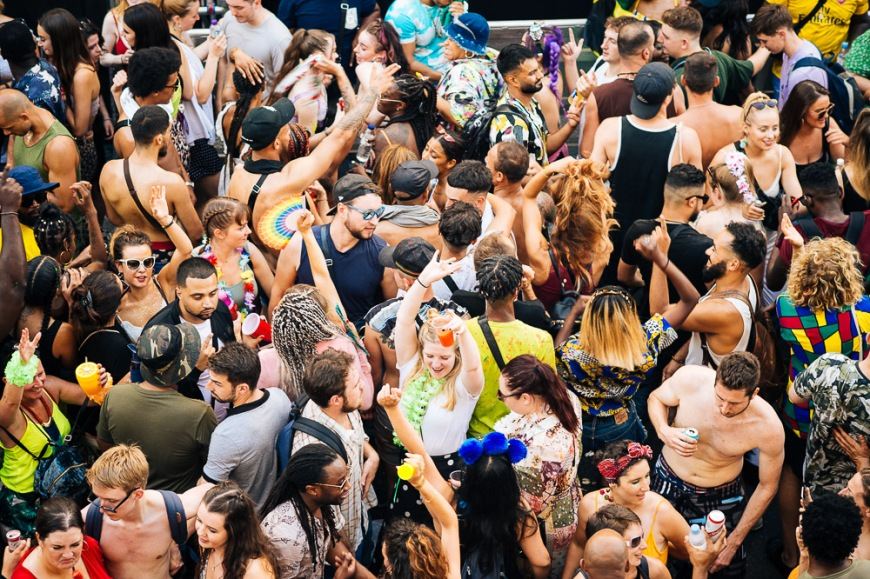 Notting Hill Carnival 2019, London, United Kingdom
