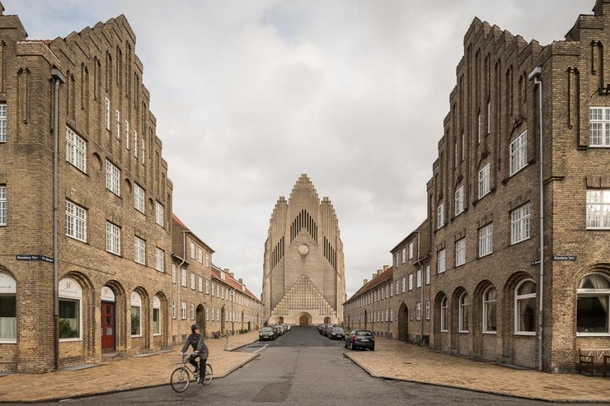 Grundvigs Church, Copenhagen, Denmark
