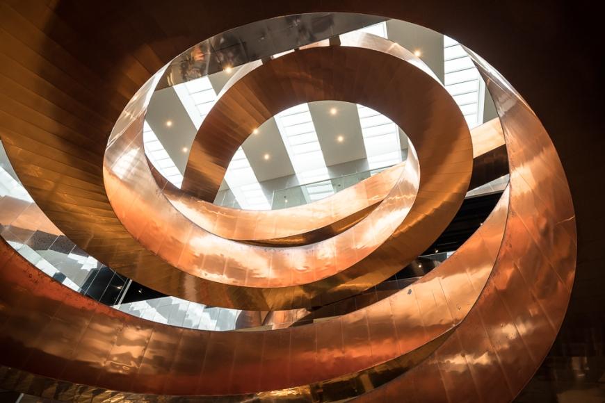Interior of Experimentarium Science Museum, Copenhagen, Denmark