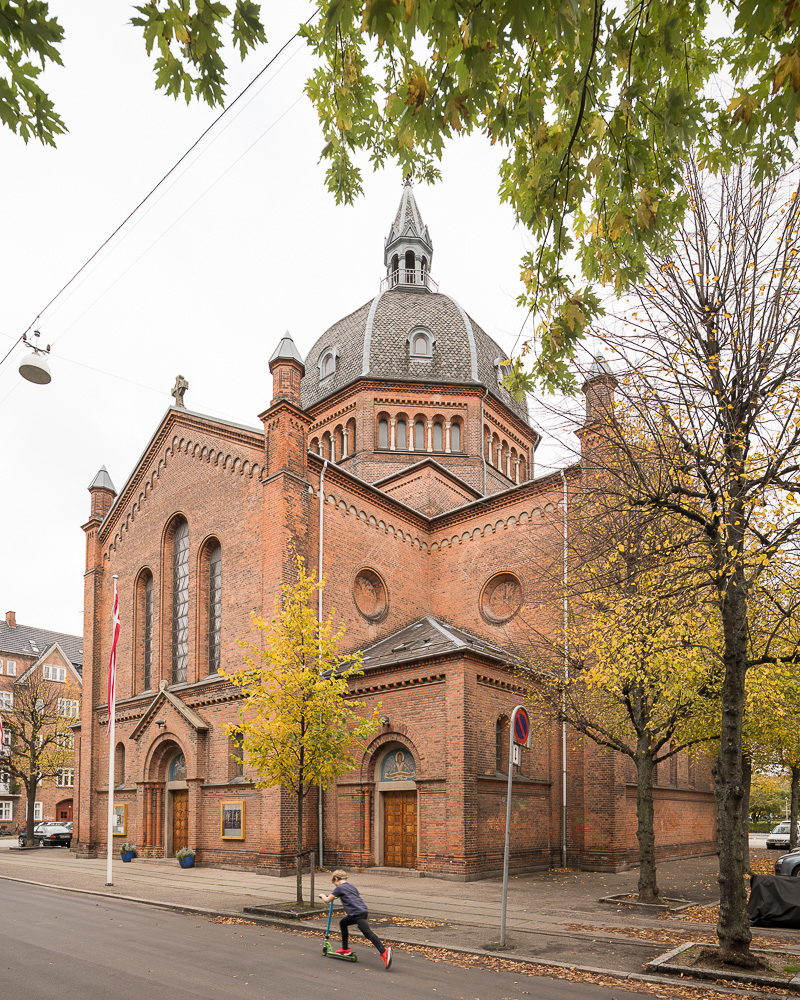 Exterior of Saint Markus Church, Copenhagen, Denmark