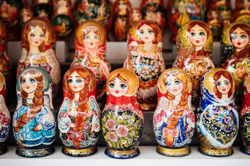 Matryoshka Dolls, Saint Petersburg, Leningrad Oblast, Russia