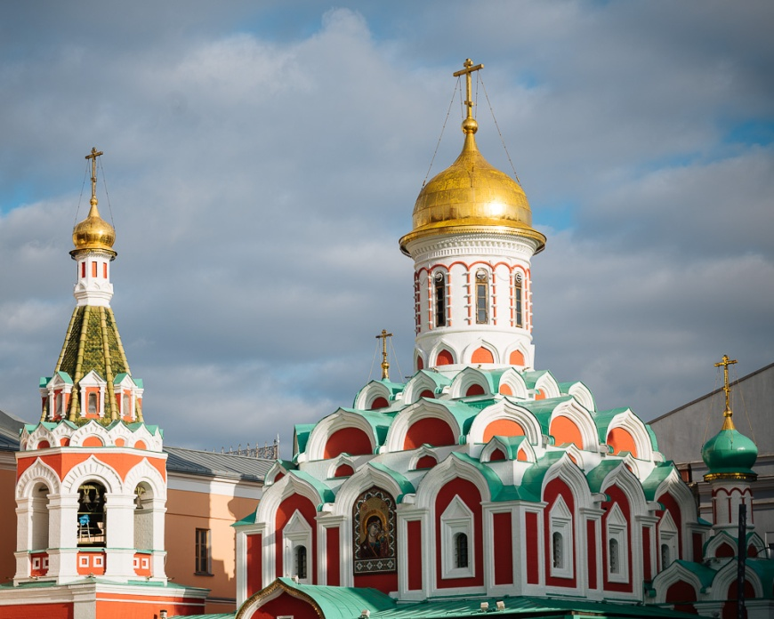 Kazan Cathedral, Red Square, Moscow, Moscow Oblast, Russia