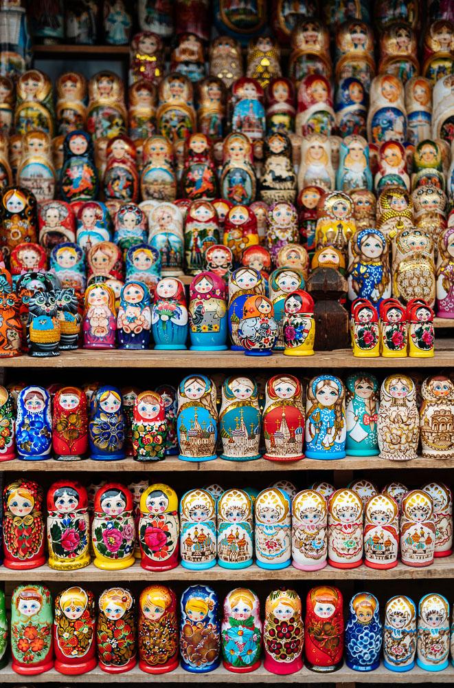 Matryoshka Dolls for sale in Izmaylovskiy Bazar, Moscow, Moscow Oblast, Russia